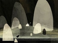 Jon Klassen - BOOOOOOOM! - CREATE * INSPIRE * COMMUNITY * ART * DESIGN * MUSIC * FILM * PHOTO * PROJECTS #illustration