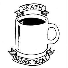 NIKKI GRAZIANO #coffee #illustration #doodle #humor