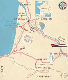 zara picken france illustration #illustration #maps