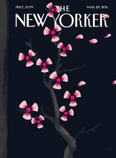 New Yorker cover Japanese tsunami
