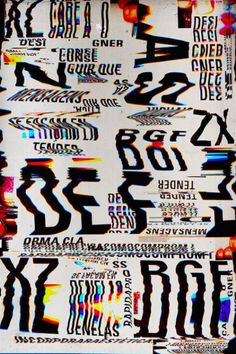 Marcos Faunner | PICDIT #design #glitch #art #type #typography
