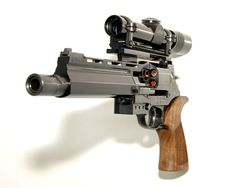 Flickr Photo Download: The Mateba Unica 6. Leupold M8-2X EER #gun #weapon #hand #scope