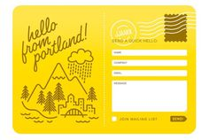 inspiring yellow contact form illustrated #design #illustration #web #contact form