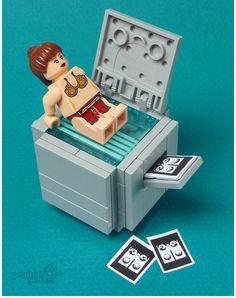 100 custom LEGO minifigs #lego #art #minifigs