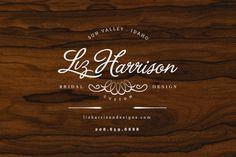 liz harrison #logo #typo