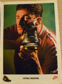 nike air speed john aldridge lethal weapon advert #nike