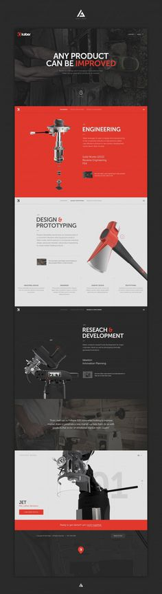 Kaber Full #design #ui #hero #parallax #web