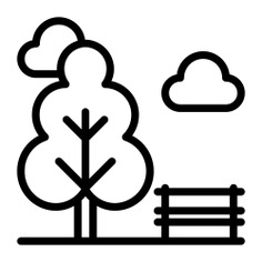 See more icon inspiration related to park, nature, landscape, leisure and trees on Flaticon.