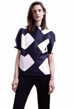 Narciso Rogriguez pre-fall 2014 Collection - http://fordmodels.tumblr.com/ #fashion