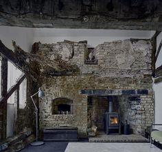 The Remains of an XVII Century Cottage Encapsulated in a Modern Home 5