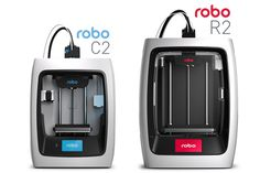 The Robo C2 and Robo R2 (C2 and R2 for short respectively) are smart 3D printers redefine its type in functionality and appearance.