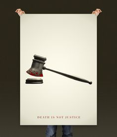 Death is not Justice #justice #quito #rickcuenca #poster #cartel #death #ecuador