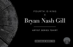 Fourth is King x Bryan Nash Gill #woodcut #nash #gill #tshirt #is #fourth #art #bryan #king