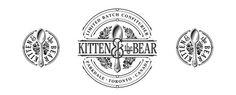 Kitten & the Bear brand identity design