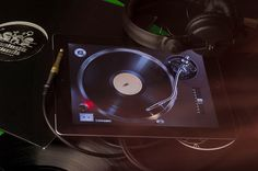 Turnplay iPad app design and development #user #turntable #ux #ipad #player #interface #ui #experience #vinyl #app #music #gui