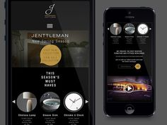 Jenntleman_mobile_site #design #mobile