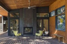 Modern Mountain Cabin Methow Valley, Prentiss Balance Wickline Architects 7
