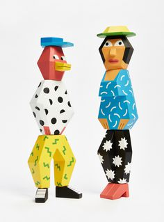 ANDY REMENTER'PEOPLE BLOCKS 3' 151004_Andy_R_People_Blocks_twoup_0069The limited series features two new wooden characters entirely made an