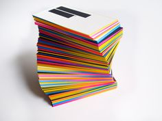IS Creative Studio / business cards 3rd edition #business #branding #cards #stationery #colour