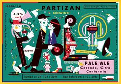 Partizan Brewing   Pale Ale G000 114