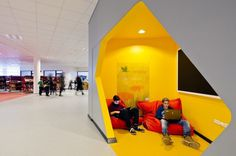 New City School, Frederikshavn / Arkitema Architects #yellow #architecture