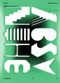 Piotr Buczkowski | Foragepress.com #green #experimental #poster #typography