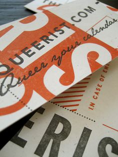 Typographie #type #collateral