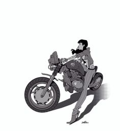 WroOAam by joslin on deviantART #chick #biker