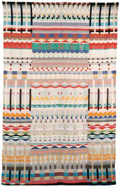 We hated Bauhaus. It was a bad time in architecture. They just... but does it float #rug #pattern #awesome