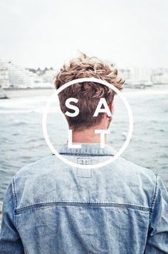 SALT Surf | †ransmission #surf #portrait #poster #logo #biarritz #salt