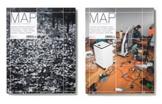Map Magazine, Issue 1 & 12 20 Matt Willey #design #cover #layout #editorial #magazine