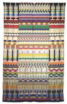 Gunta Stölzl - Bauhaus Master #fabric #process #tapestry #geometric #concepts #textile #weaving #sketch