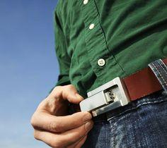 The Buckle Puffer Belt #gadget