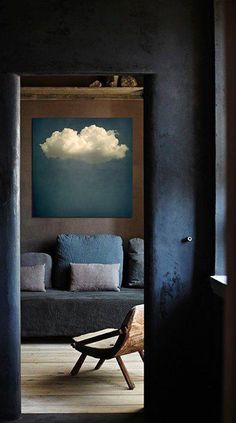 #cloud #painting #interior