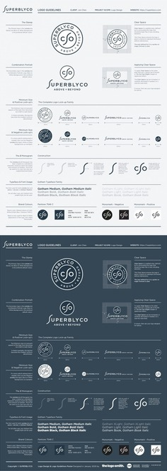 Logo Guidelines Poster - Illustrator Template for Free Download by The Logo Smith