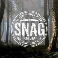 SNAG Bar by BMD Design, via Behance #seal #logo #identity