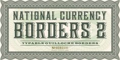 typelove_nationalcurrency_04 #typography