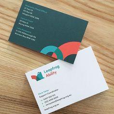 Simple offset printed cards for Leapfrog Ability on @kwdoggett Strathmore Premium