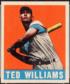 1948 Leaf Ted Williams - Ted Williams - Wikipedia
