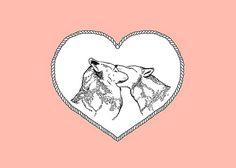 coqueterías - (via misswallflower) #pink #illustration