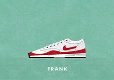 grain edit · Matt Stevens: Nike Air-Max-A-Day Illustrations #max #air #shoe #tribute #nike #illustration