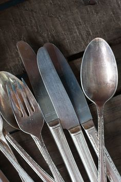 Antique Utensils #utensils #antique #food