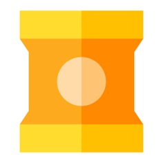 See more icon inspiration related to snack, food and restaurant, snacks, potatoe, chips, fast food and food on Flaticon.