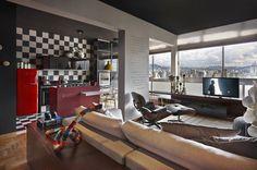 Retro style revived Santo Agostinho apartment renovated by architect Gislene Lopez - www.homeworlddesign.com (2) #retrostyle #brazil #home