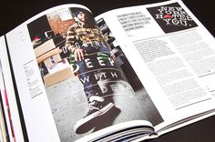MagSpreads Magazine Design and Editorial Inspiration: T world: The Journal of T Shirt Culture #magazine #magazine