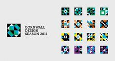 Cornwall Design Season | Branding | A-Side
