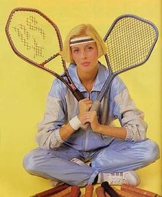 MacGregor Bergelin Long String and Myriac, 1986 - 80s-tennis.com