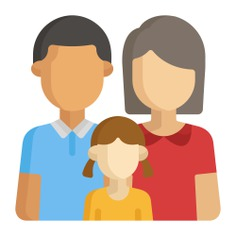 See more icon inspiration related to mother, love, father, family, daughter, people and parents on Flaticon.