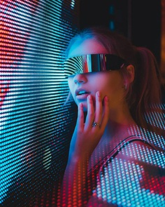 Moody and Futuristic Portrait Photography by Reed Walchle