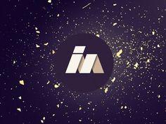 Sara Lindholm - visualgraphic: i'm Logo #logo #black